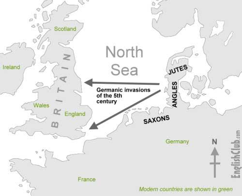تاریخچه کامل زبان انگلیسی طبق آخرین تحقیقات انجام شده در دنیا