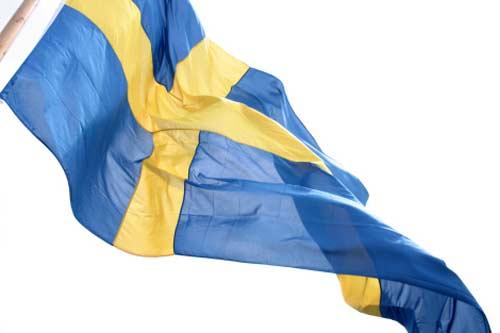 پرچم سوئد